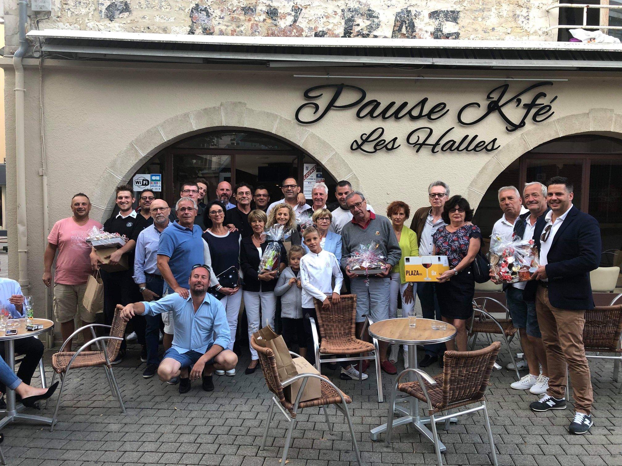 Coupe Pause K'fé, DJ Peinture et Laurent V